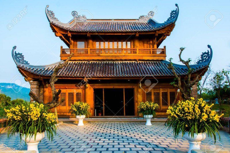 103257818 Bai Dinh Pagoda The Biggiest Temple Complex In Vietnam In Trang An Ninh Binh