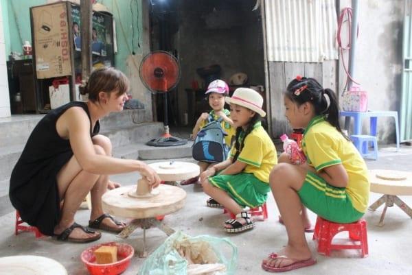 Bat Trang Potery Village Hanoi Making