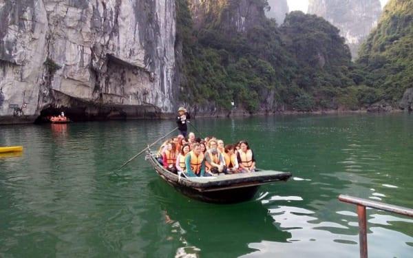 Halong Bamboo Boat 100