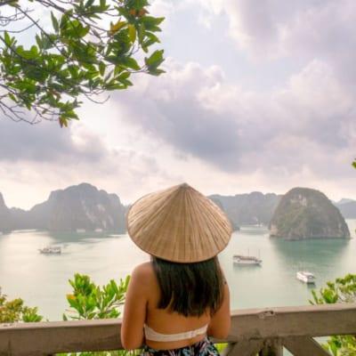 Titop Island Panorama Paradise Elegance Halong Bay Vietnam Laugh Travel Eat