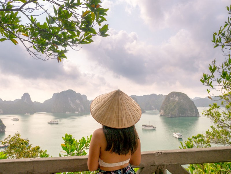Titop Island Panorama Paradise Elegance Halong Bay Vietnam Laugh Travel Eat
