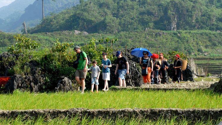 0013876 Tour Trekking Y Linh Ho Lao Chai Ta Van 1 Ngay Khoi Hanh Ga Lao Cai
