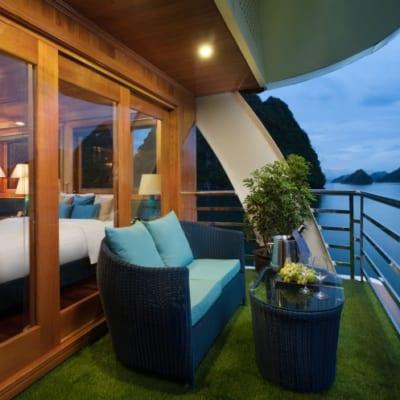 2. Private Balcony