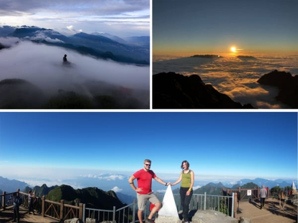 Beautiful View From Fansipan Peak