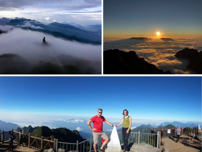 Beautiful View From Fansipan Peak