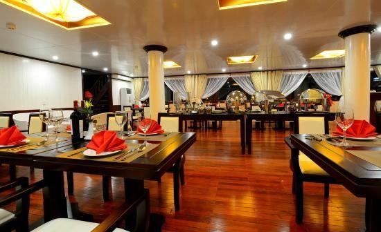 Halong Silversea Cruise Restaurant
