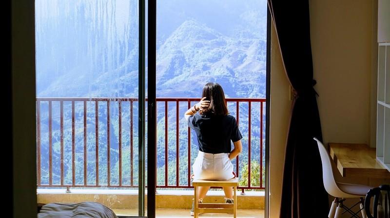 Roxana Sapa Hotel Deluxe Room Muong Hoa View