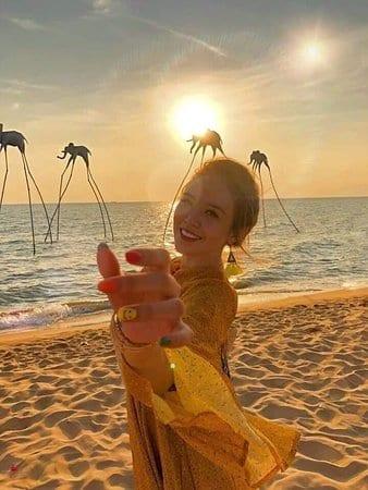 Goc Hinh S Ng O T I Sunset
